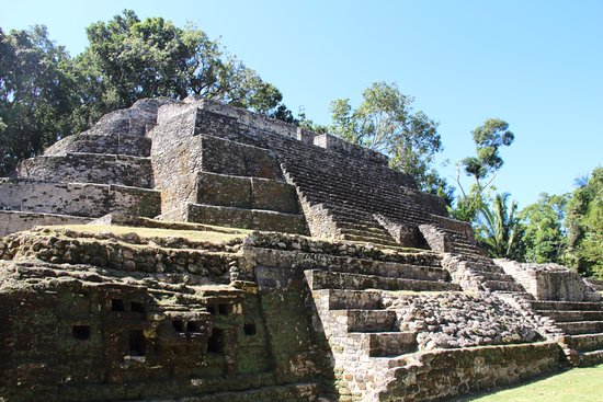 Belize District, Belize: Lamanai Mayan Site and New River Tour