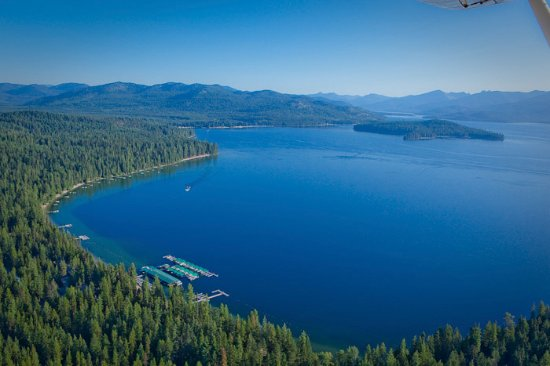 Priest Lake, ID: Hill's Resort, Luby Bay