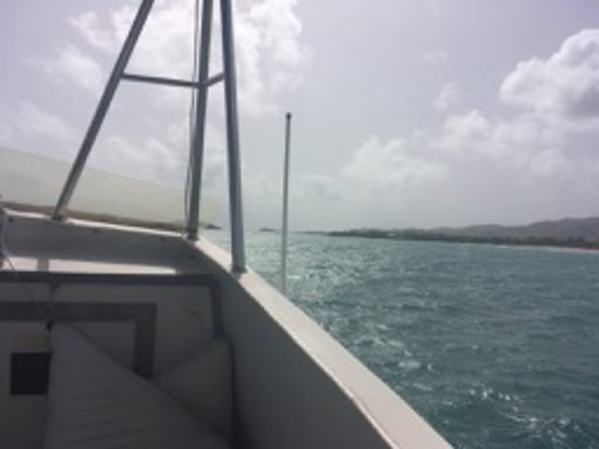 Christiansted, St. Croix: Heading out to Buck Island