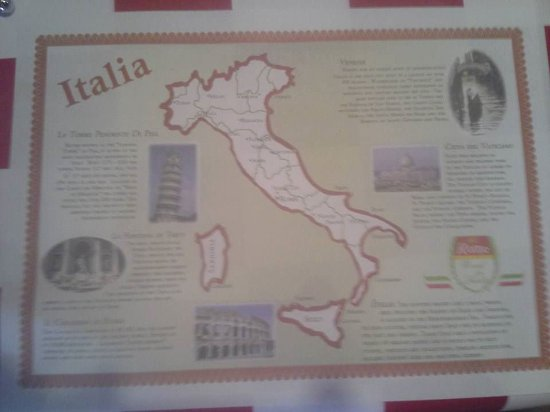 Deming, NM: Placemat inspires overseas travel
