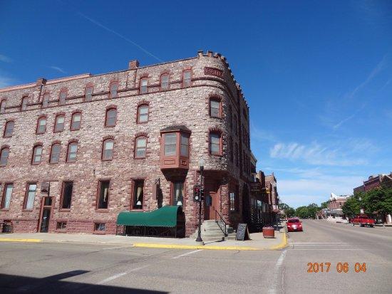 Pipestone, Minnesota: The Calumet Inn built in 1888.