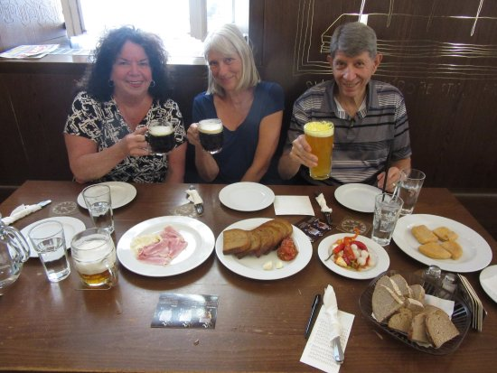 Prague Food Tour: At the Prague Lokal Beer Hall