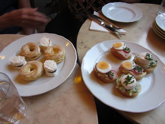 Prague Food Tour: Savory and sweet treats from Prague's Cafe Savoy