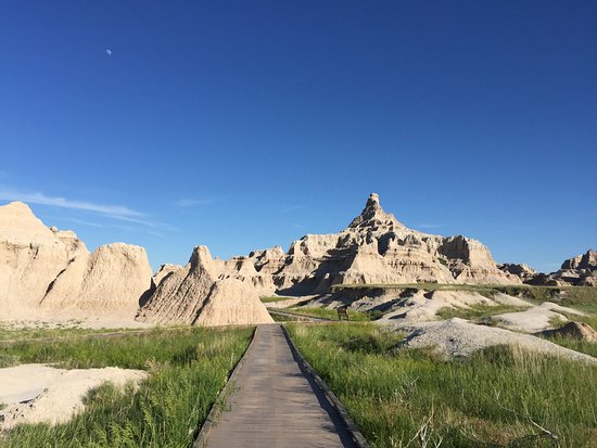 Interior, Dakota do Sul: Badlands National Park, SD, USA