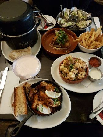 Seafood Restaurants Near Belfast