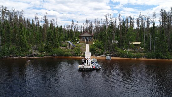 Red Lake, Kanada: our own peice of paradise for a week.