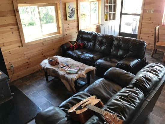 Red Lake, Canada: comfortable living space.