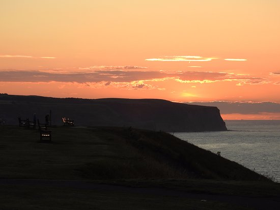 Seacliffe Hotel: A Whitby Sunset