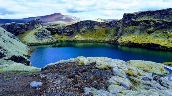 Kirkjubaejarklaustur, ไอซ์แลนด์: On the way back from Laki.