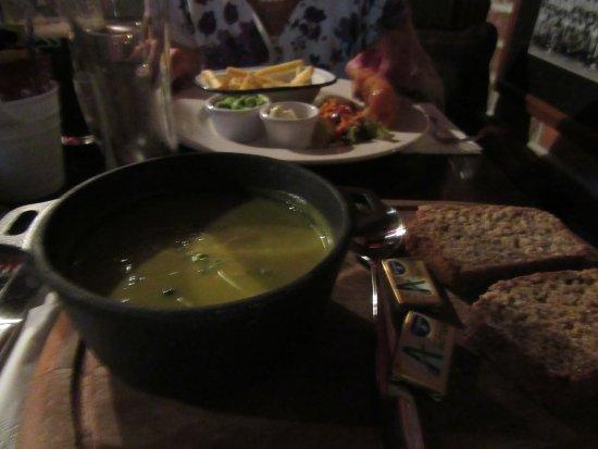 Ennis, Ireland: Homemade soup