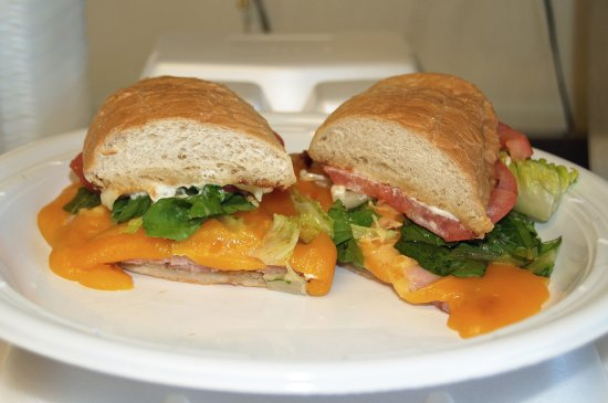 Fruitland Park, Floride : Smoked ham and cheese.