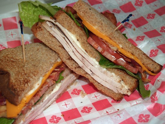 Fruitland Park, Floride : Club Sandwich. Lots of flavor. Like you made it in your own kitchen!