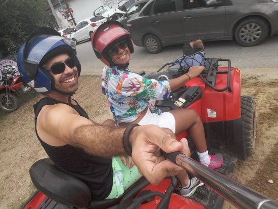 Visconde de Maua, RJ: Passeio de quadriciclo para a cachoeira do Marimbondo