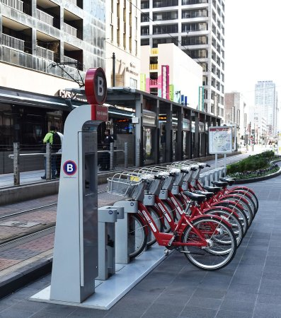 Downtown Houston BCycle Station