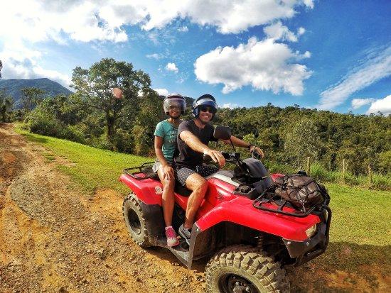 Visconde de Maua, RJ: Passeio de quadriciclo.