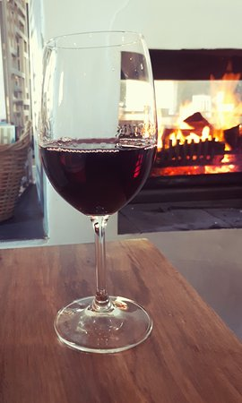 Bramon Wine Estate: Toasting by the fire!