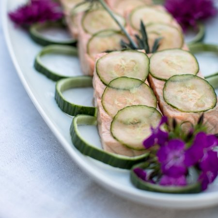 Branford, CT: Poached Salmon from our Gourmet to Go Menu