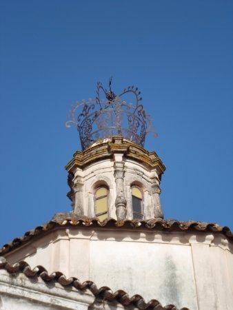 Casa Solariega de la Familia Peche: iglesia santa catalina