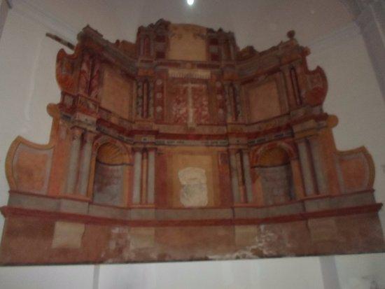 Casa Solariega de la Familia Peche: iglesia san francisco, altar de obra