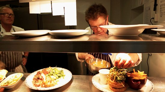Nourish at No44: Watch our chefs at work through the viewing window