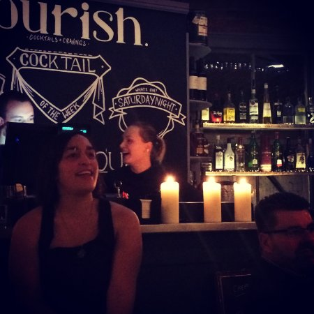 Nourish at No44: Cocktails and live music. Saturday evenings