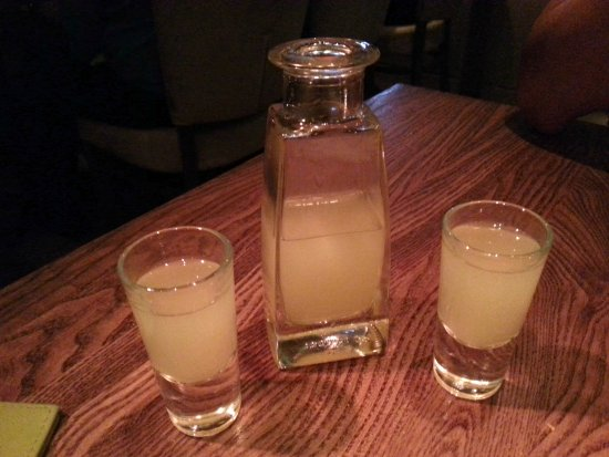 Berkhamsted, UK: AFTER DINNER LIMONCELLO
