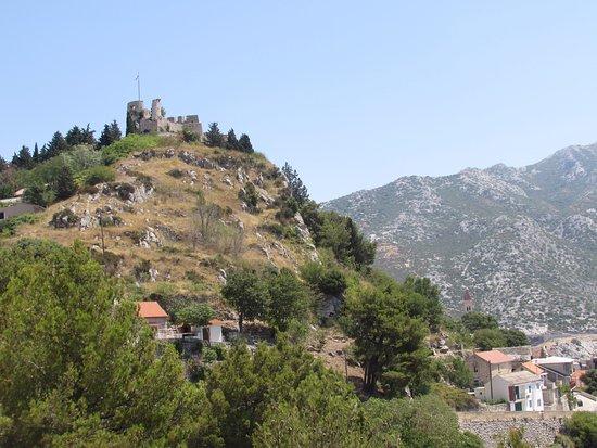 Klis, Croatia: Klucz Dalmacji górujący nad okolicą.