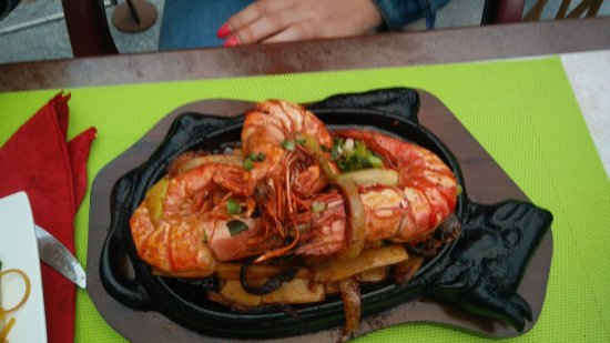 Guillestre, France: Suggestion Gambas