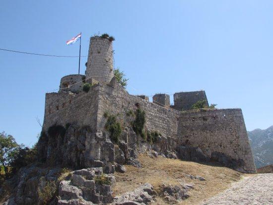 Klis, Croatia: U podnóża zamczyska.