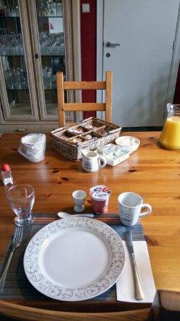 Beringen, Belgium: breakfast