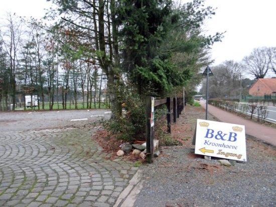 Beringen, Belgium: to the parking place
