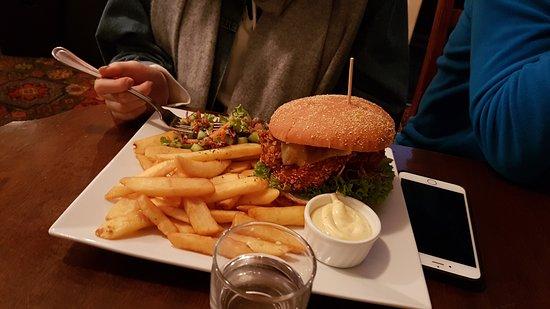 Rangiora, New Zealand: Chicken burger