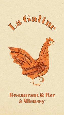 Mieussy, Frankrig: La Galine logo J. Kowalczyk