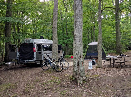 Wheatley, Canada: Site 50 at Boosey Creek Campground
