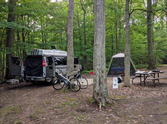 Wheatley, Kanada: Site 50 at Boosey Creek Campground