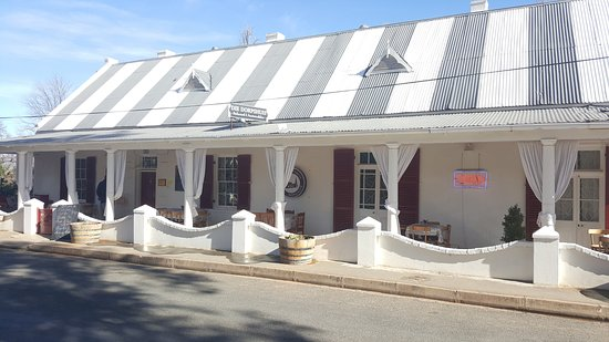 Calitzdorp, South Africa: They serve lovely breakfasts