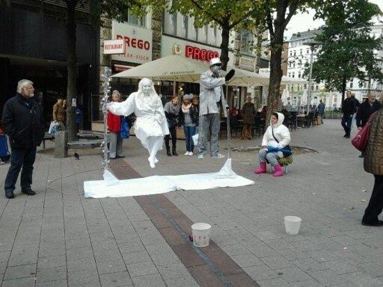 Rathausmarkt: Rathaus Performers