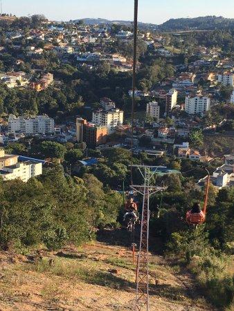 Serra Negra, SP: vista de cima