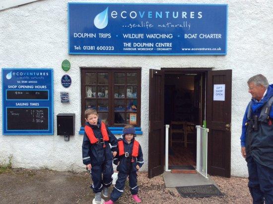 Cromarty, UK: Little sailors