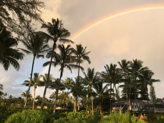 Hanalei Pier : Almost guaranteed to see a rainbow
