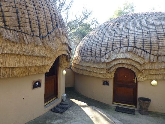 Lanseria, South Africa: Our Huts