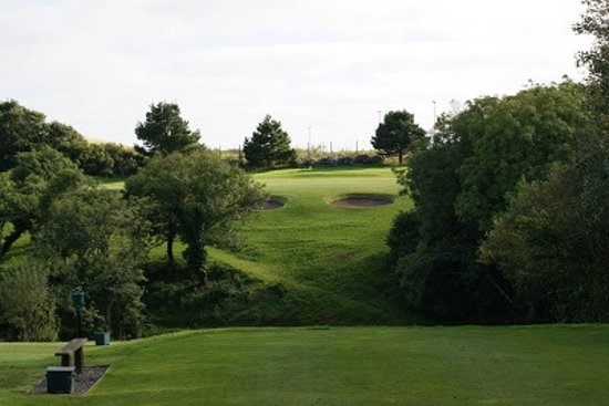 Milford Haven, UK: 4th Hole - The Valley