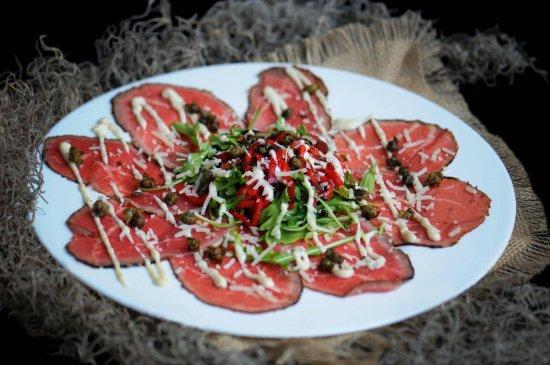 Bellini's Ristorante & Bar: Beef Carpaccio