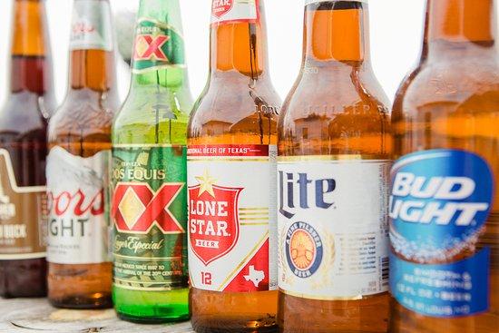 Alpine, TX: Cold beer.