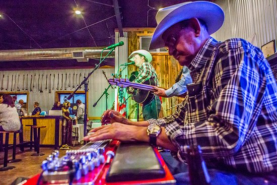 Alpine, TX: Live music on our stage, featuring local and Texas singer / songwriters.