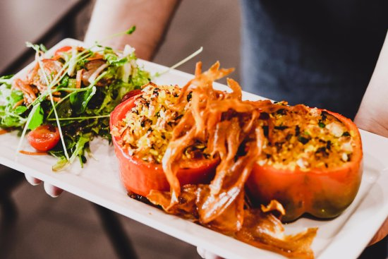 Roasted Stuffed Peppers Picture Of Barcella Restaurant