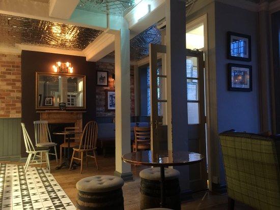 Sudbury, UK: Pub Area