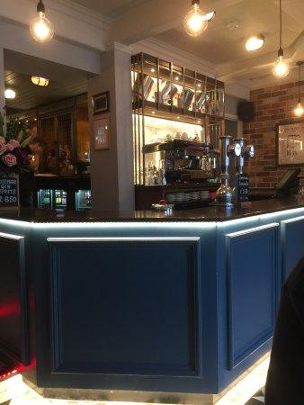 Sudbury, UK: Nicely redone Pub area