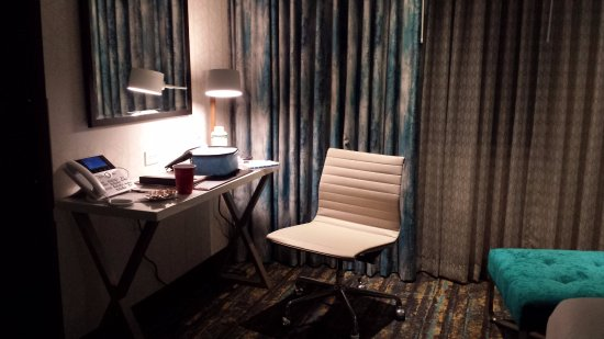 Lincoln, CA: Room desk, chair and chaise lounge.