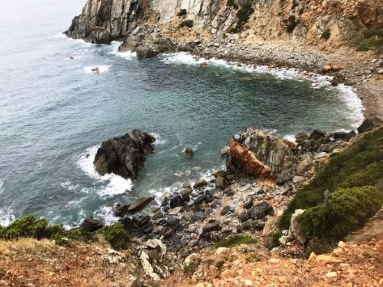 Carnaxide, Portugal: View from Coves of the Atlantic hike